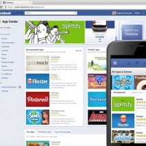 Facebook App-Center
